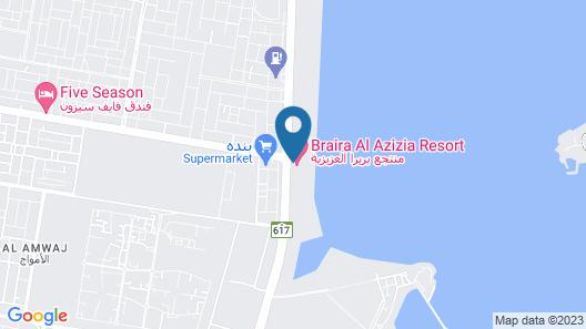 Braira AL Azizya Hotels & resorts Map