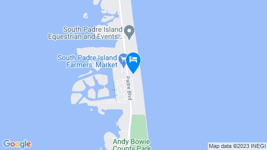 Los Corales Unit #201n - Beachfront 3 Bedroom Condo Map