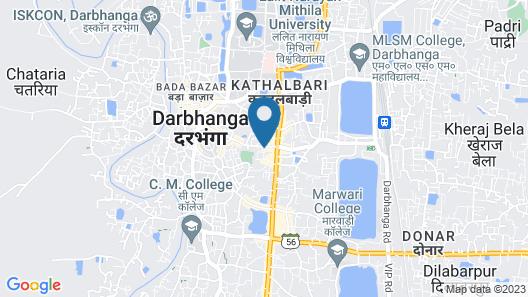 SPOT ON 46935 Hotel Janki Palace Map