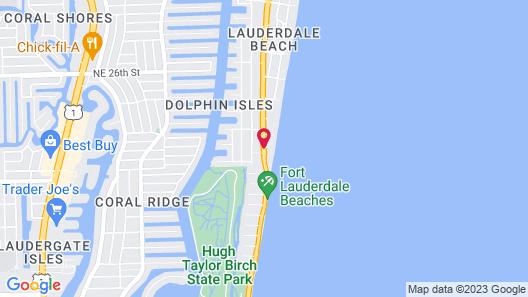 Owner Rentals at Pelican Grand Beach Resort Map