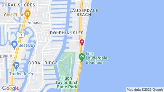 Pelican Grand Beach Resort - A Noble House Resort Map
