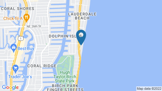 Sun Tower Hotel & Suites on the Beach Map