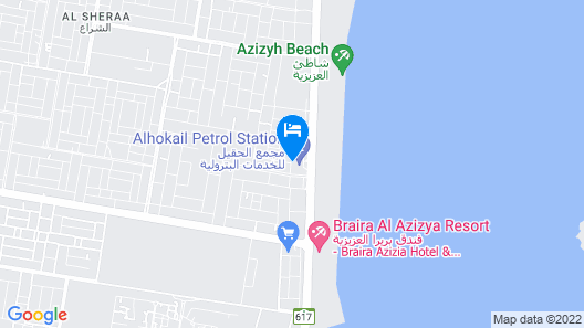 Sudir Palace Hotel Units Map