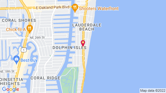 Cambria Hotel Fort Lauderdale Beach Map