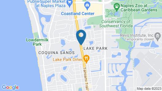 Ramada by Wyndham Naples Map