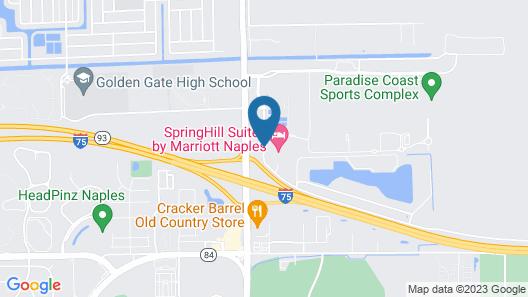 Fairfield Inn & Suites by Marriott Naples Map