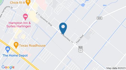 Guest Inn San Benito/Harlingen Map