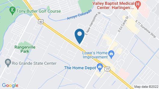 Country Inn & Suites by Radisson, Harlingen, TX Map