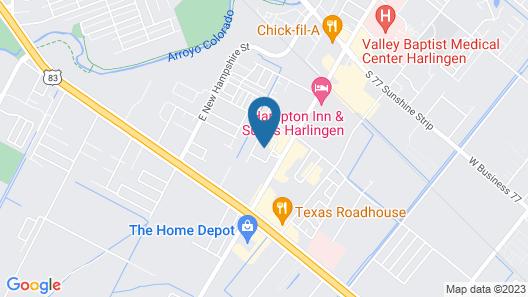 Homewood Suites by Hilton Harlingen Map