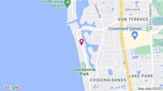 Edgewater Beach Hotel Map