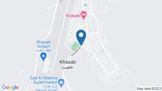 Atana Musandam Map
