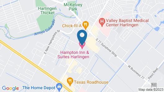 Hampton Inn & Suites Harlingen Map