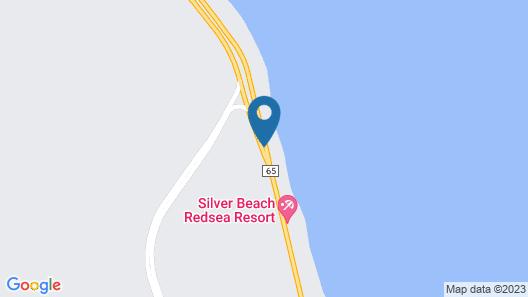 Flamenco Beach and Resort Map