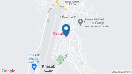 Khasab Hotel Map