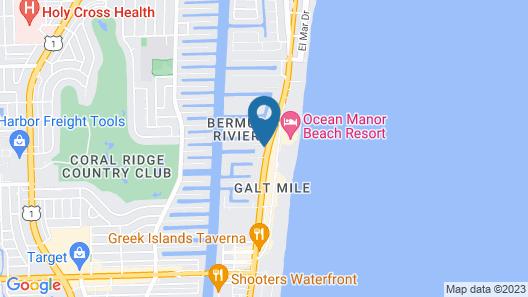 Ocean Reef Hotel Map