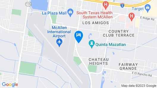 Radisson Hotel McAllen Airport Map