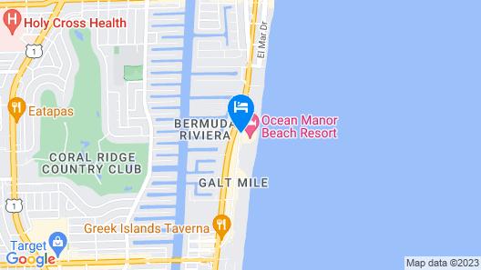 Ocean Sky Hotel and Resort Map