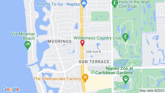 Naples Garden Inn Map