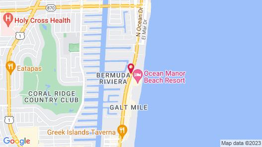 Ocean Mile Hotel Map