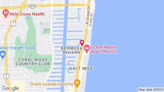 Sky Islands Hotel Map
