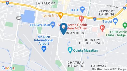 Fairfield Inn & Suites by Marriott McAllen Airport Map