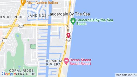 Sea Cliff Motel Map
