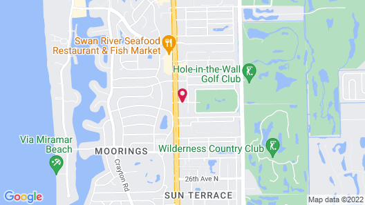 Courtyard by Marriott - Naples Map