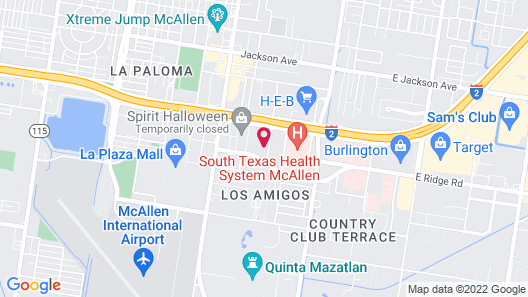 Holiday Inn Express & Suites McAllen - Medical Center Area, an IHG Hotel Map