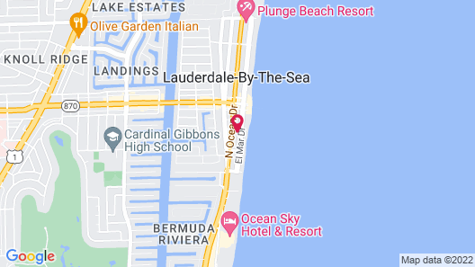 Bee by the Sea Map