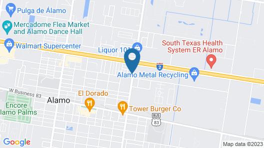 La Copa Inn Map