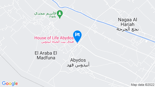 House of Life Abydos Map