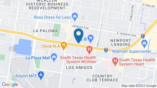 Holiday Inn McAllen – Medical Center Area, an IHG Hotel Map