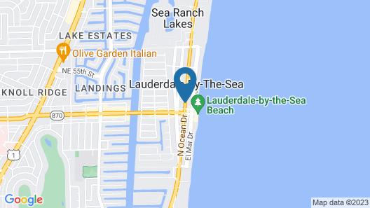 Shore Haven Resort Inn Map
