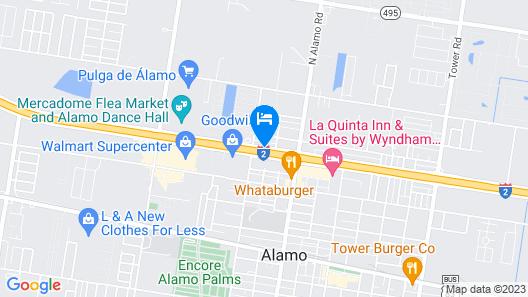 La Quinta Inn & Suites by Wyndham Alamo - McAllen East Map