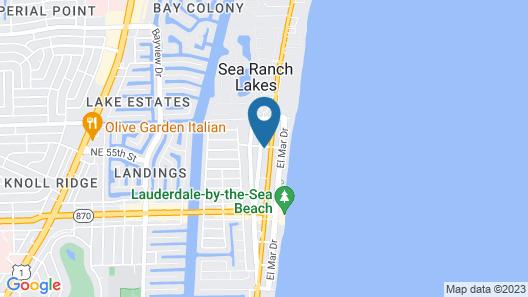 Hotel Seacrest Map