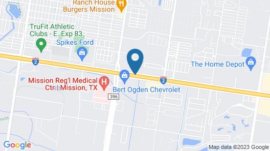 La Quinta Inn & Suites by Wyndham Mission at West McAllen Map