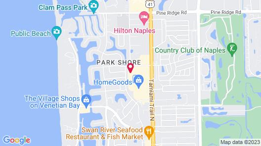 Park Shore Resort Map
