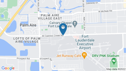 Courtyard by Marriott Fort Lauderdale North/Cypress Creek Map