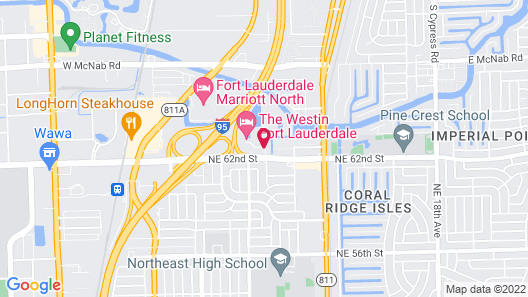The Westin Fort Lauderdale Map
