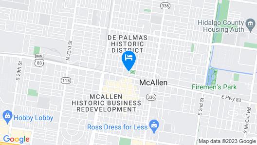Casa De Palmas, Trademark Collection by Wyndham Map