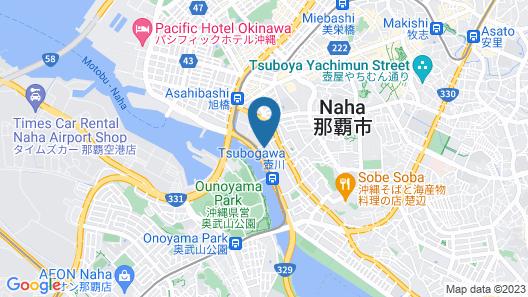 Tokyu Stay Okinawa Naha Map