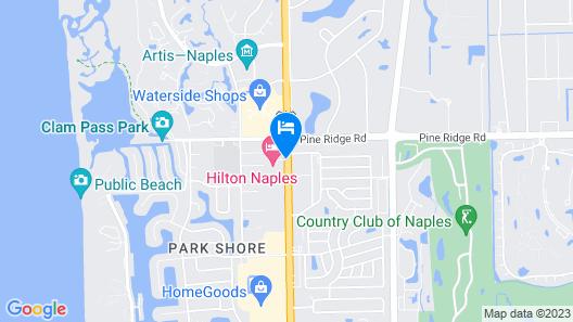 Hilton Naples Map