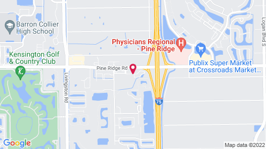 Best Western Naples Plaza Hotel Map