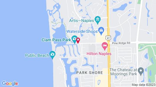 Naples Grande Beach Resort Map