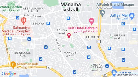 Mansouri Mansions Hotel Map