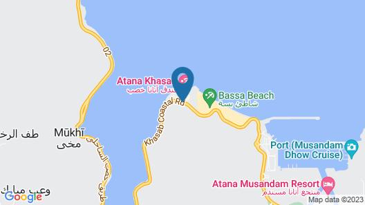 Atana Khasab Hotel Map