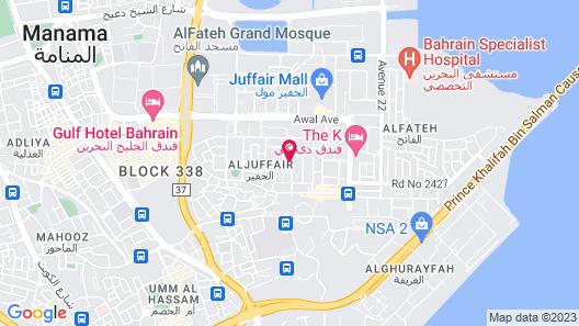 Juffair Gate Hotel Map