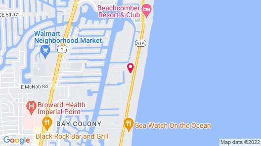 Surfsider Resort Map