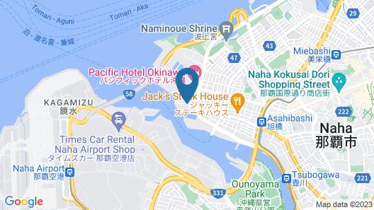 Loisir Hotel Naha Map