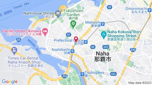 Okinawa NaHaNa Hotel & Spa Map